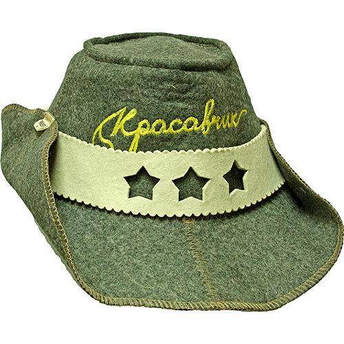 Ковбойская шляпа Красавчик для бани