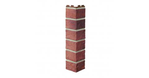 Угол наружный Vox Solid Brick Bristol кирпич красный