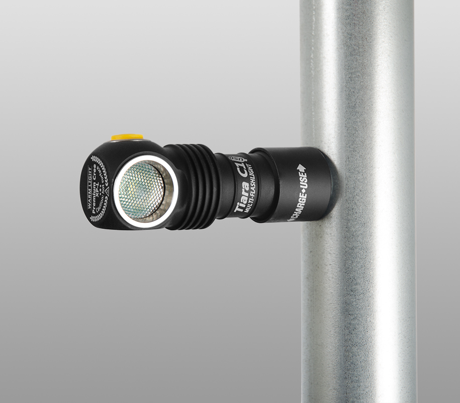 Мультифонарь Armytek Tiara C1 Magnet USB (тёплый свет) - фото 8