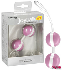 Joyballs Вагинальные шарики розово-белые