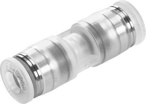Муфта цанговая прямая Festo NPQP-D-Q6-E-FD-P10 (комплект 10 шт)