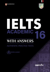 IELTS 16 Academic Student's Book with Answers with Audio with Resource Bank
