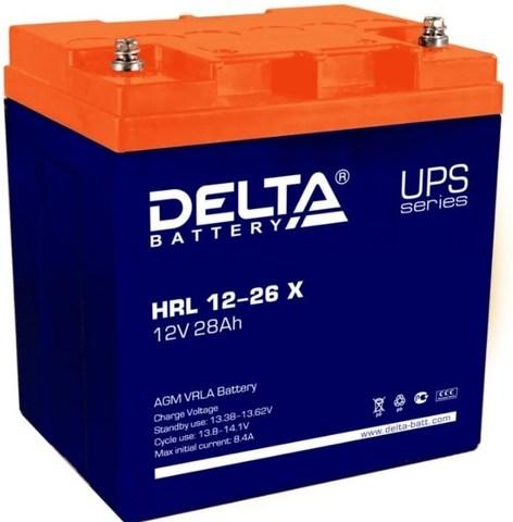 Аккумуляторная батарея Delta HRL 12-26 X