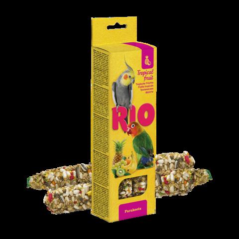 Rio Лакомство для средних попугаев Палочки с тропическими фруктами
