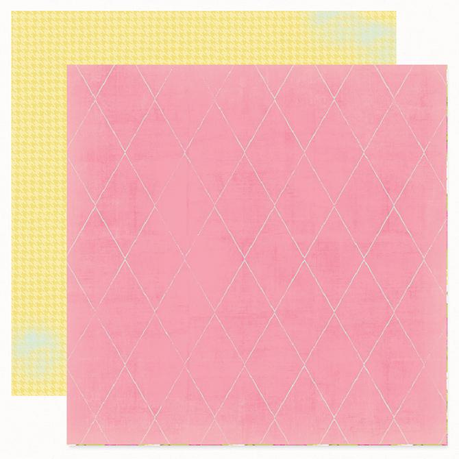 Лист двухсторонней бумаги Pink Dream