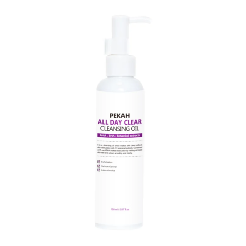 Pekah All Day Clear Cleansing Oil очищающее масло с кислотами для жирной и комбинировнной кожи