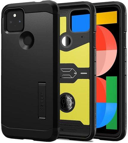 Чехол Spigen Tough Armor для Google Pixel 5a 5G (2020) - Black