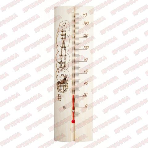 Термометр для бани и сауны с рисунком в интернет-магазине ЯрТехника