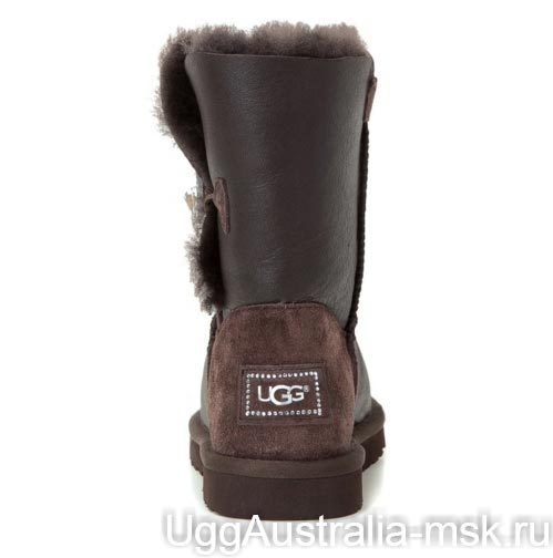 Ugg Bailey Button Bling Chocolate