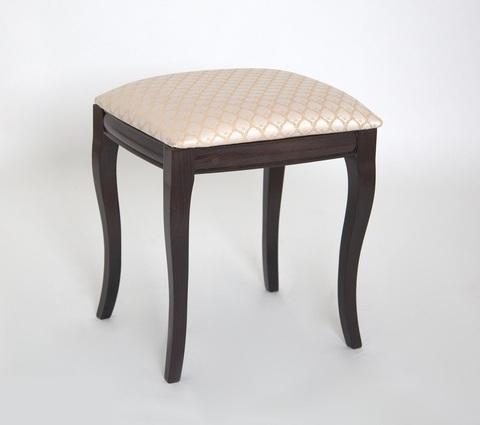 Банкетка-пуф Кентавр деревянная с мягким сидением венге