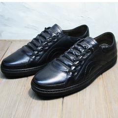Модные кроссовки кеды мужские Novelty 5235 Black