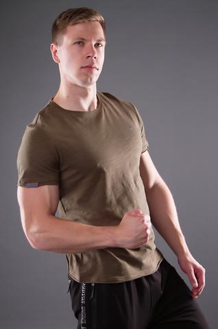 """Men's """"VELIKOROSS"""" khaki t-shirt"""