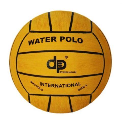 Тренировочный ватерпольный мяч Diapolo W4 woman/junior yellow Размер 4 для женщин/юниоров арт.B-DP4-01