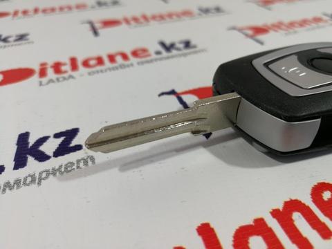 Ключ выкидной в стиле BMW для Лада Гранта FL (2018+)