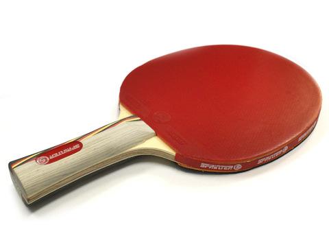 Ракетка для игры в настольный тенис Sprinter 6******, для опытных  игроков принимающих участие в турнирах. Скорость: 7 Вращение: 8 Контроль: 8 :(S-603):