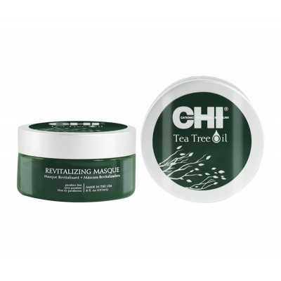 CHI Tea Tree Oil: Восстанавливающая маска с маслом чайного дерева для волос (Revitalizing Masque), 157мл