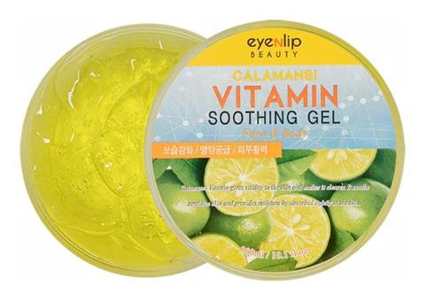 Гель для лица и тела с экстрактом каламанси  Eyenlip Calamansi Vitamin Soothing Gel