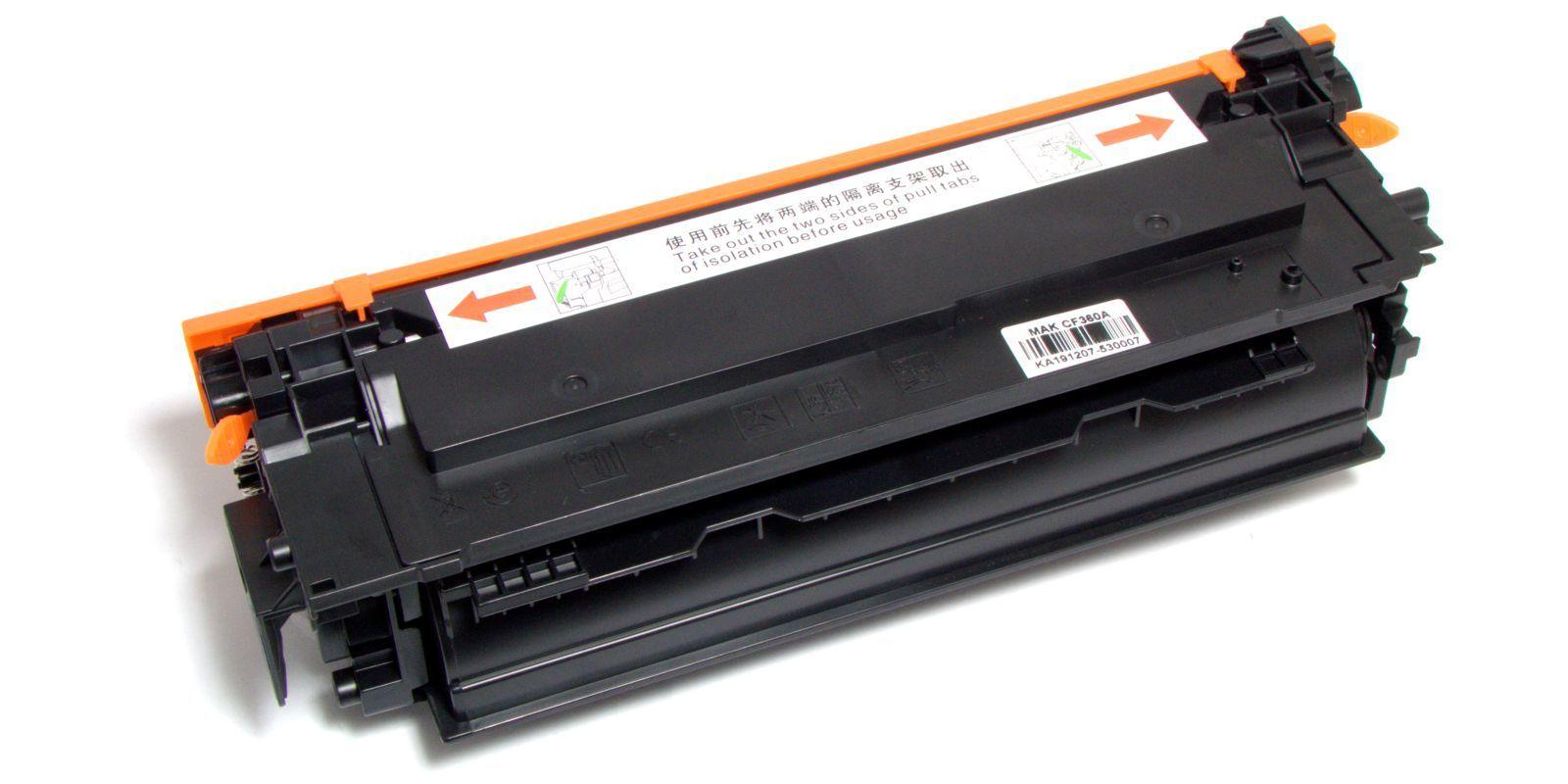 Картридж лазерный цветной MAK© 508A CF360A черный (black), до 6000 стр.