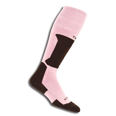 Термоноски горнолыжные Thorlo XSKI Pink/Chocolate