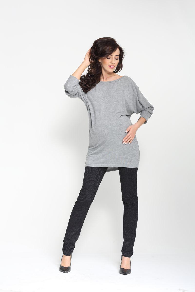 Туника для беременных 00074 серый