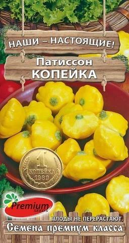 Семена Патиссон Копейка
