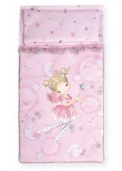 DeCuevas Кроватка для куклы с аксессуарами серии Мария,49,5 см (55134)