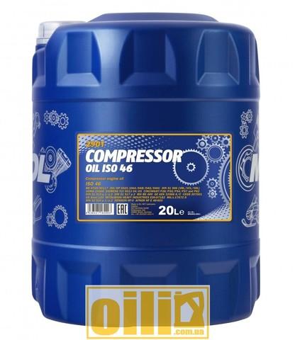 Mannol 2901 COMPRESSOR OIL ISO 46 20л