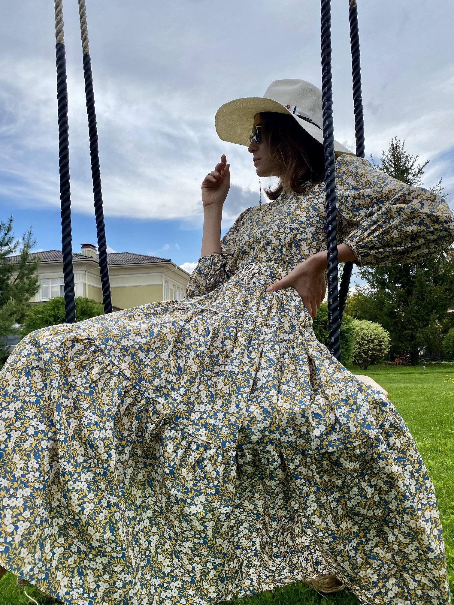 Платье, Ballerina, Mille Fleurs (желтый)