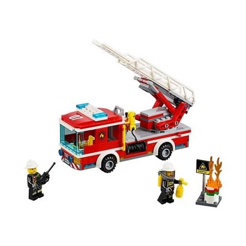 LEGO City: Пожарный автомобиль с лестницей 60107 — City Fire Ladder Truck — Лего Сити Город