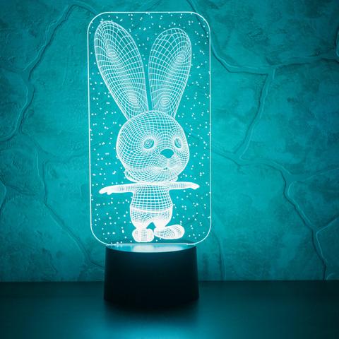 Art-Lamps Заяц и снежинки