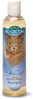 Груминг, уход за шерстью Кондиционирующий шампунь для кошек протеином и ланолином, Bio-Groom Silky Cat Shampoo, 237 мл 20008.jpg