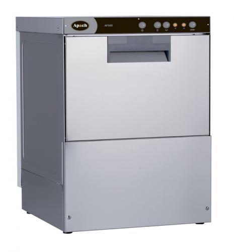 фото 1 Фронтальная посудомоечная машина с помпой Apach AF500 на profcook.ru