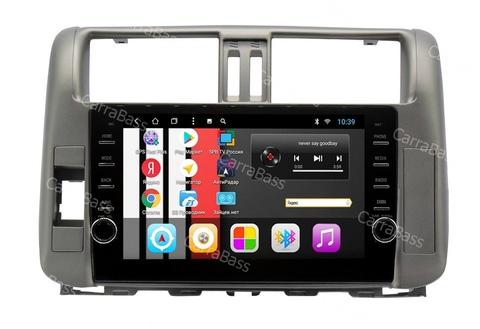 Магнитола  для Toyota Prado 150 (2010-2013) Android 9.0 2/32 модель CB-1010T8