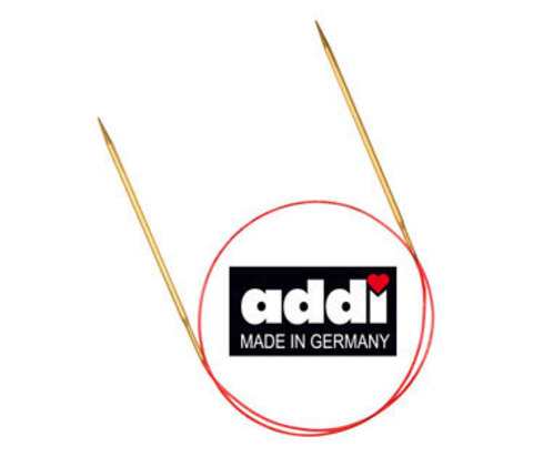 Спицы круговые с удлиненным кончиком, №5, 100см ADDI Германия арт.755-7/5-100