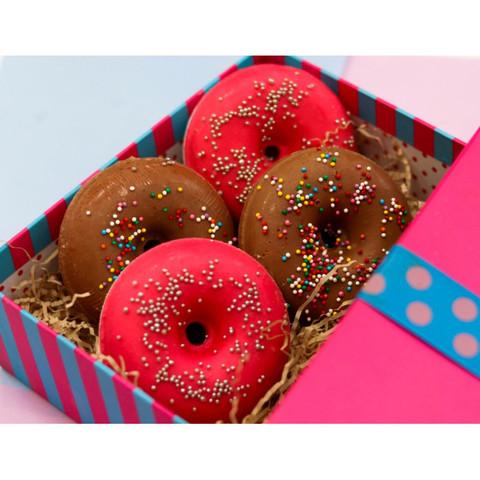 Пончик для принятия ванны Цитрус PRETTY GARDEN 180±10 г Уральская мануфактура