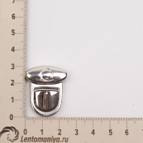 """Портфельный замок """"Круг микро"""" (цвет на выбор) для вязаных и кожаных клапанов"""