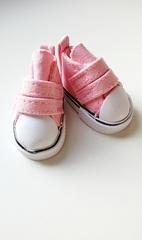 Обувь для кукол, кеды на липучке, 5 см по подошве, 1 пара.