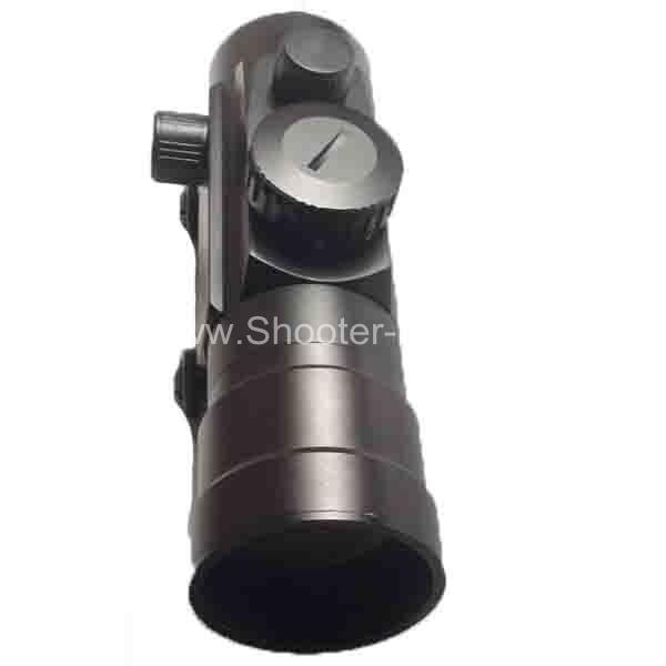 Коллиматор Target Optic 2х42 закрытого типа на Weaver, подсветка точка 50 фото