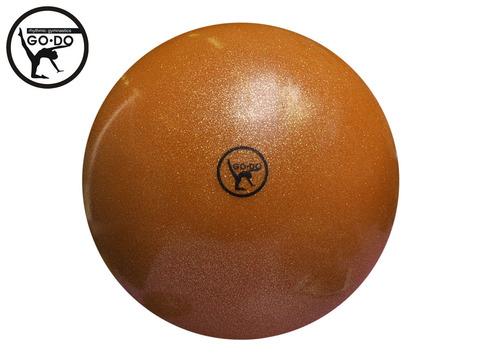 Мяч GO DO для худ. гимн. D15 см. Цв. оранжевый имитация