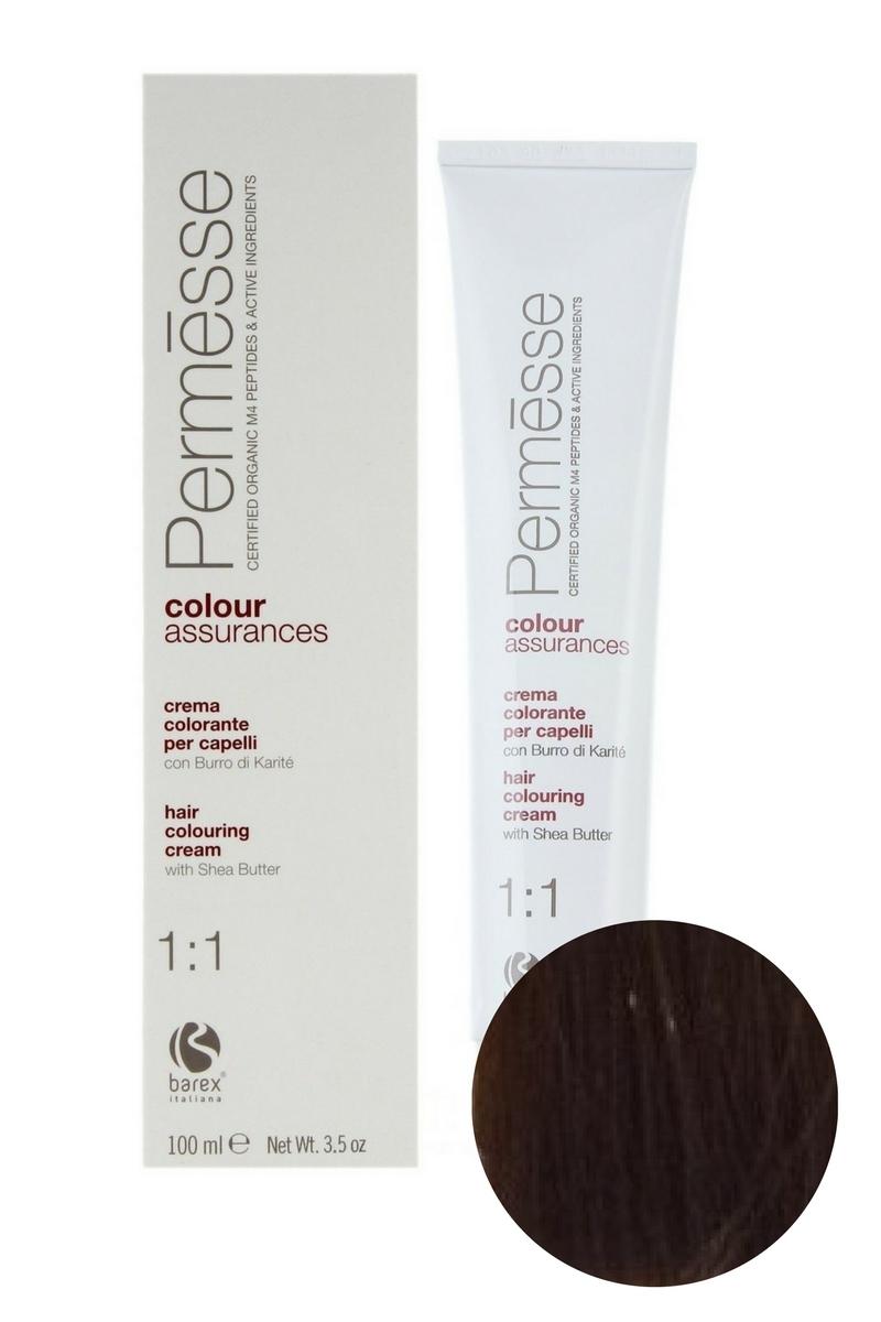 Крем-краска для волос 7.3 Блондин золотистый Permesse, Barex