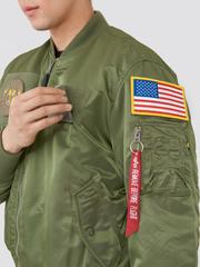 Бомбер Alpha Industries МА-1 Flex Sage Green (Зеленый)