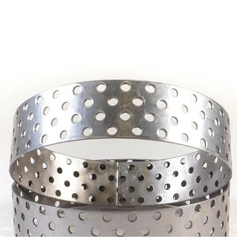 Кольцо для выпечки перфорированное, d-8см, h-2см