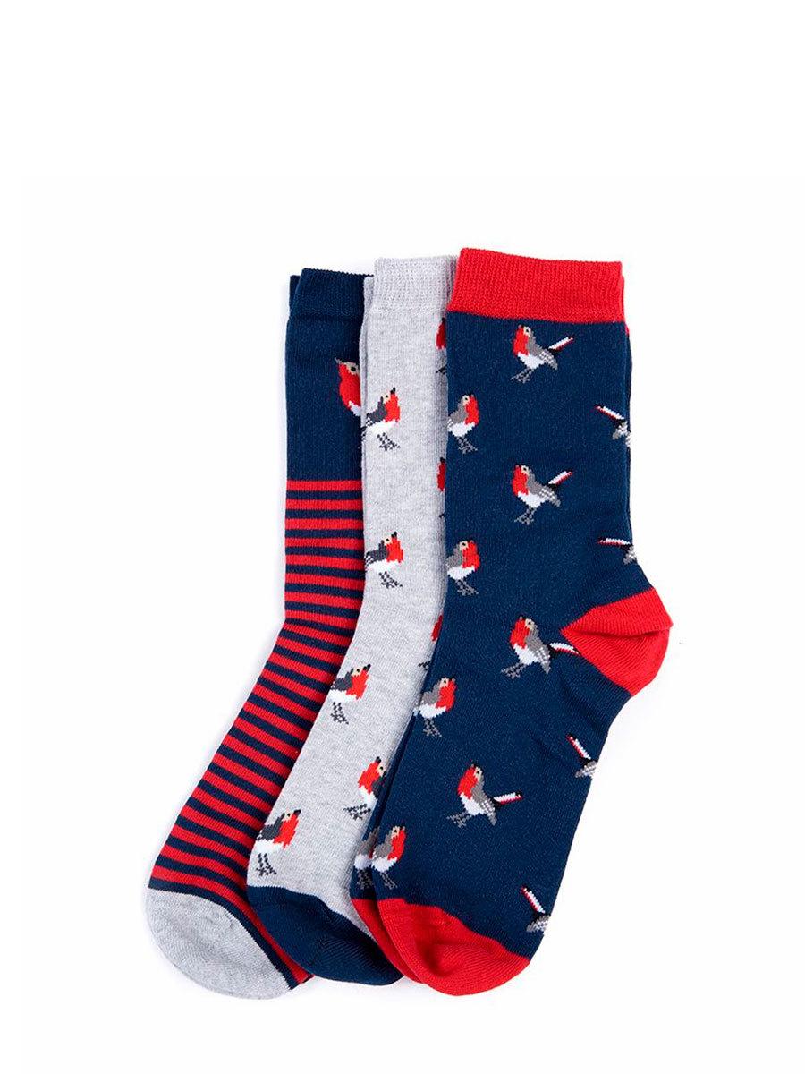 Barbour набор носков Robin Socks Giftbox LGS0035/RE11 - Фото 1