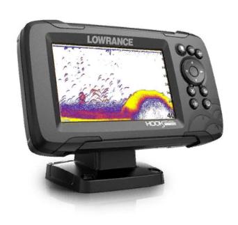 Lowrance Hook 5 reveal панель сонара