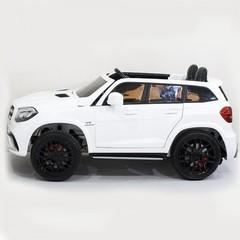 MERCEDES-BENZ GLS63 4WD с MP4-монитором на черных дисках (ЛИЦЕНЗИОННАЯ МОДЕЛЬ) Полноприводный, двухместный