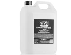 NIRVEL кондиционер питательный с кератином и пантенолом для сухих, ломких и поврежденных волос keratin & panthenol cream 5000 мл.