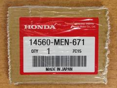 Прокладка под натяжитель цепи ГРМ оригинал Honda 14560-MEN-671