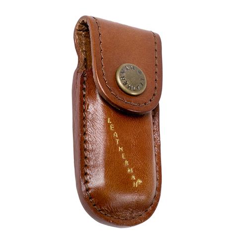 Чехол Leatherman Heritage mini XS, внутренний размер: 6,35X2,03X1,06 см, кожаный, коричневый