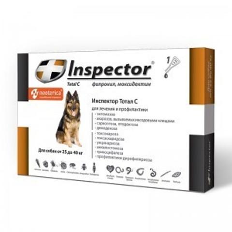 INSPEСTOR (Инспектор) для собак 25-40 кг   1 пип.