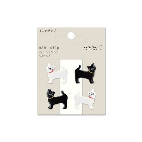 Зажимы Midori Mini Clip - Cat